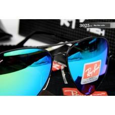 Ray Ban 3025 mirror blue black