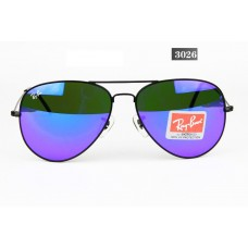 Ray Ban 3026 mirror blue black