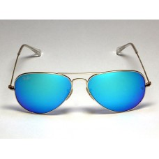 Ray Ban 3025 mirror blue silver
