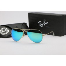 Ray Ban 3026 mirror green gold