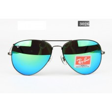 Ray Ban 3026 mirror green black