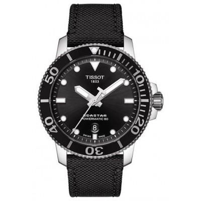 Купить оригинальные мужские часы Tissot Seastar T120.407.17.051.00 Powermatic 80 в интернет магазине Муравей