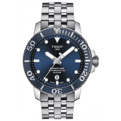 Купить оригинальные мужские часы T120.407.11.041.01 Powermatic 80 в интернет магазине Муравей
