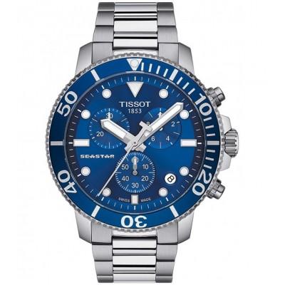 Купить мужские часы TISSOT T120.417.11.041.00 Seastar 1000 в интернет магазине Муравей