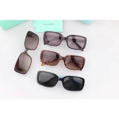 Купить Tiffany -- Co Tiffany Victoria Italy Rectangular Sunglasses TF4047B- в интернет магазине Муравей